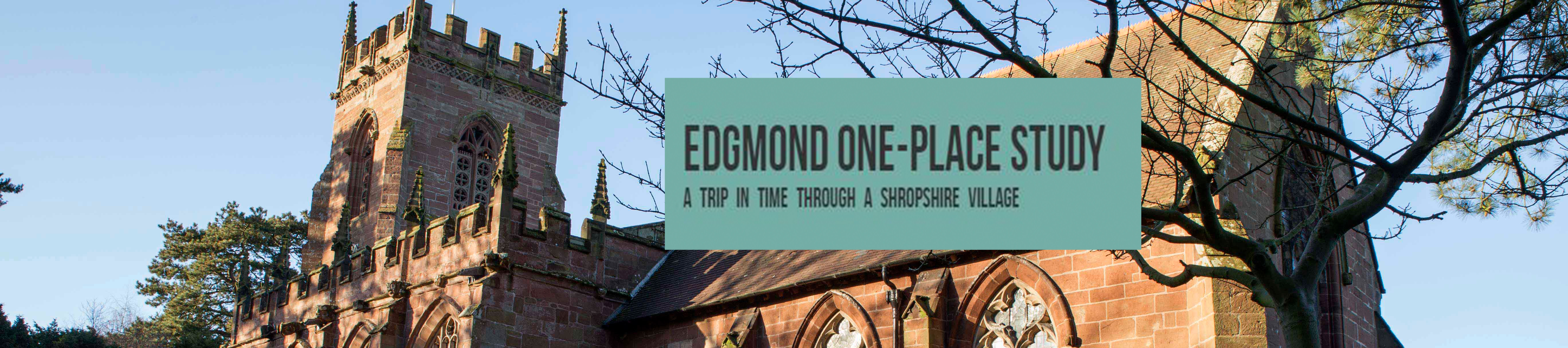 Edgmond One-Place Study